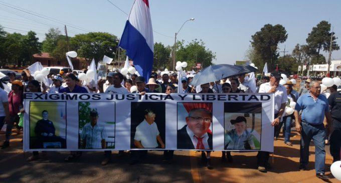 Multitudinaria movilización en el norte en reclamo de paz, libertad y seguridad