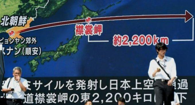 ¿Por qué Japón no destruye los misiles que lanza Corea del Norte?
