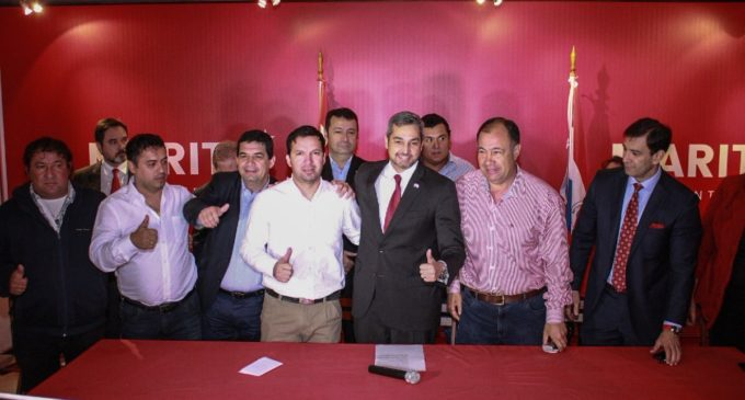 Colorado Añetete oficializa incorporación de dirigentes de Concepción