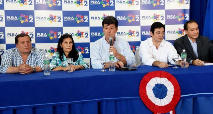 PLRA acusa a oficialismo de ANR y Blas Llano de apoyar intromisión de TSJE en internas liberales