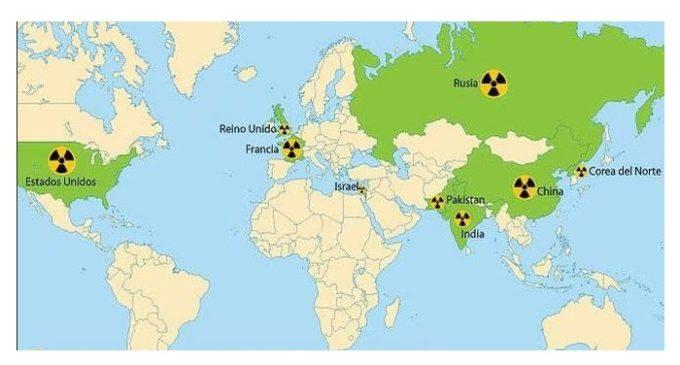 ¿Dónde están las armas nucleares del mundo?