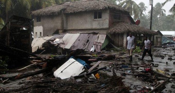 Irma causa inundaciones en República Dominicana y Haití