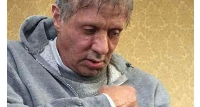 La terrible foto de Sylvester Stallone que preocupó al mundo