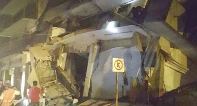 Varios estados de México han sufrido severos daños a causa del terremoto
