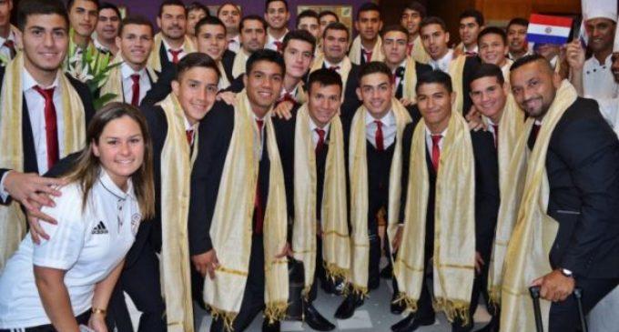 La Albirroja Sub-17 ya está en India para el Mundial