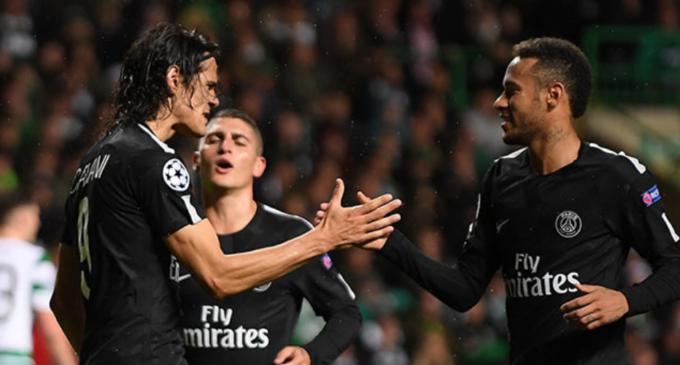 PSG derrota al Bayern en la reconciliación de Neymar y Cavani