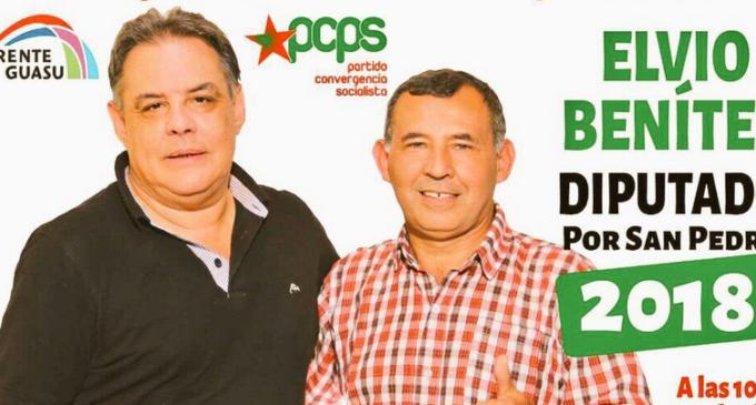 Richer defiende candidatura de líder campesino y salpica a Cartes