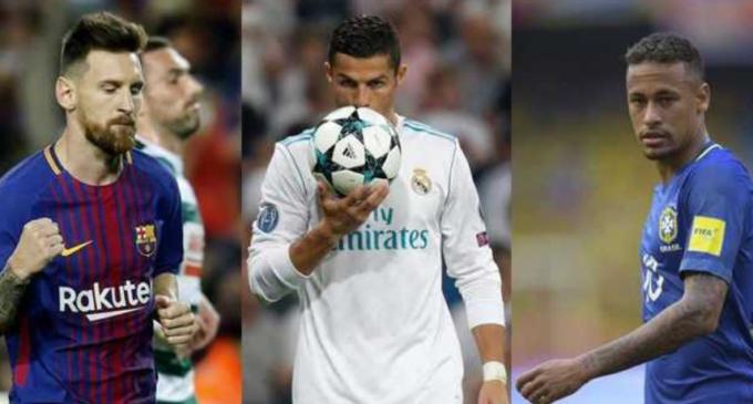 Cristiano, Neymar y Messi competirán por el The Best de la FIFA
