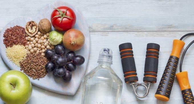 Actividad física y comida saludable, para cuidar el corazón