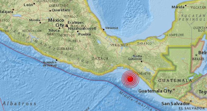 Nuevo terremoto sacudió a México