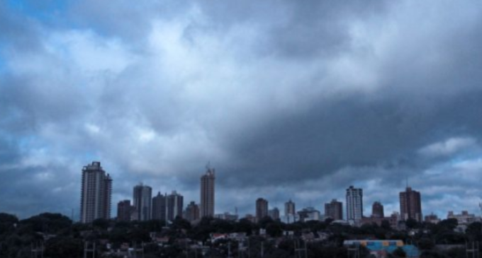 Ingreso de frente frío y tormentas al final del domingo
