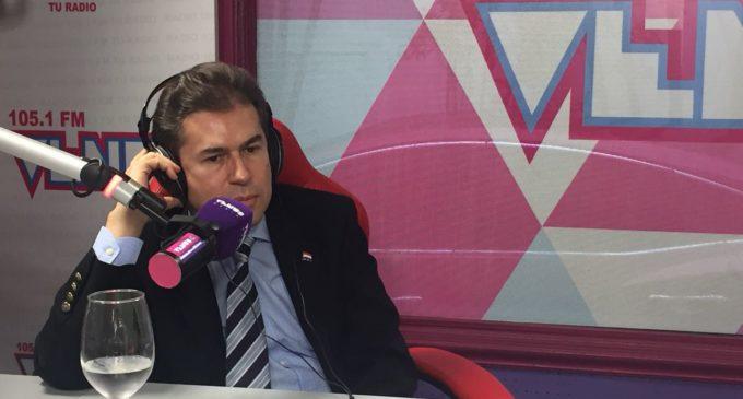 Castiglioni apunta de nuevo a la presidencia de la República