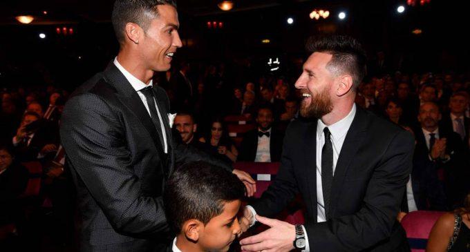 ¿A quienes votaron Cristiano y Messi?