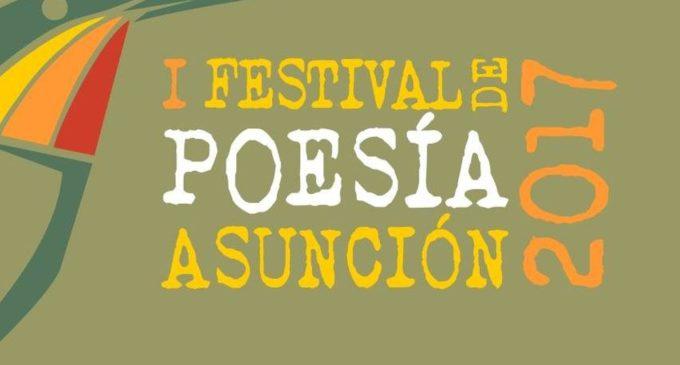 Continúa el Festival de Poesía Asunción 2017