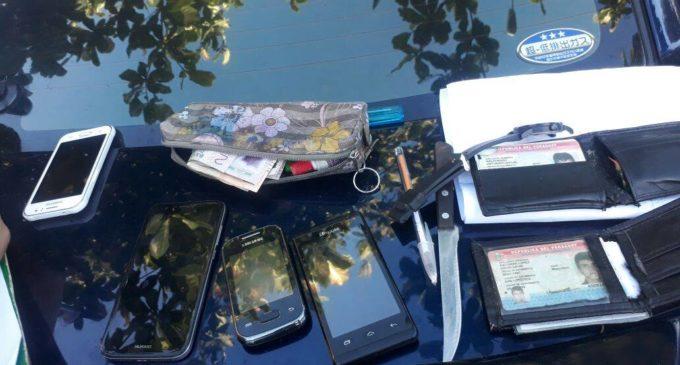 Grupo Lince capturó a motochorros que hirieron a una menor con cuchillo