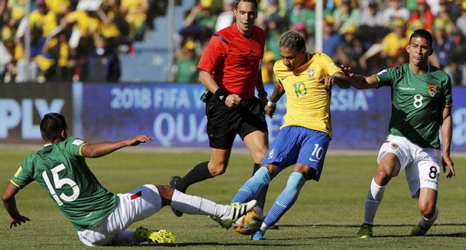 """Neymar dice que fue """"inhumano"""" jugar en Bolivia"""
