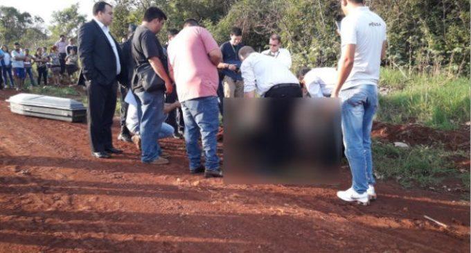 Encontraron cuerpo maniatado y calcinado en Pedro Juan Caballero