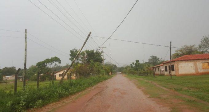 Temporal dejó casi 7.000 familias damnificadas en Capi'ibary
