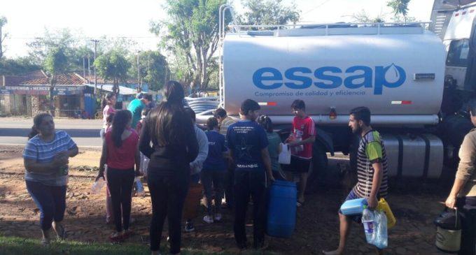 ESSAP asiste a afectados por temporal en Cordillera