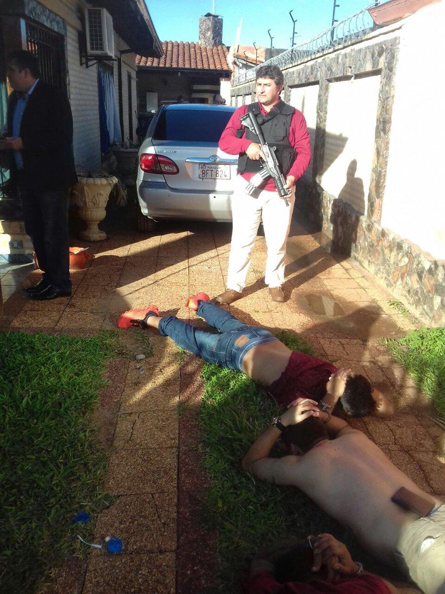 Detenidos tras atentado en Asunción