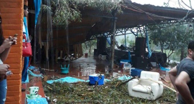 Casi 200 escuelas y colegios fueron dañados por el temporal del fin de semana