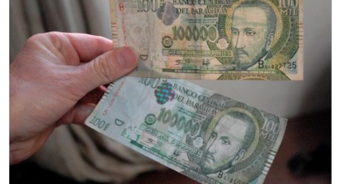 Policía Nacional alerta sobre circulación de billetes falsos de G. 100.000