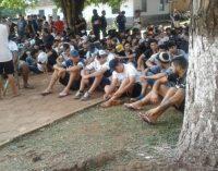41 barrabravas de Olimpia fueron enviados al Penal de Emboscada