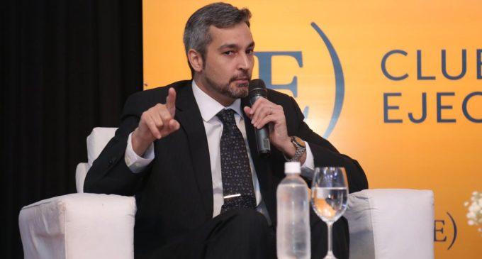 """""""Cartes puede comprar periodistas, dirigentes, pero no al pueblo paraguayo"""", dice Mario Abdo"""