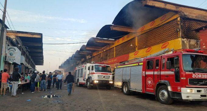 Director de Mercado de Abasto garantiza ayuda a comerciantes afectados por incendio