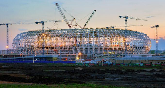 Desde Google Maps: Vista de los 12 estadios mundialistas de Rusia