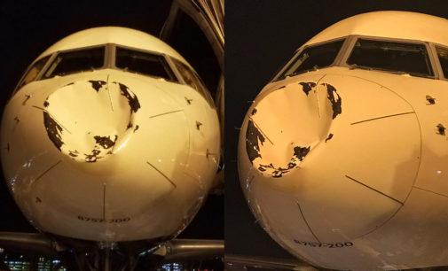 ¡Terror en el aire!: Avión de equipo de la NBA sufrió un fuerte golpe en pleno vuelo