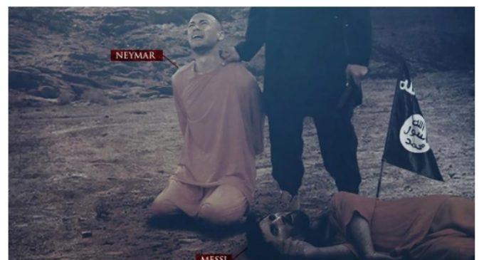 Ahora, Neymar es la nueva amenaza del ISIS
