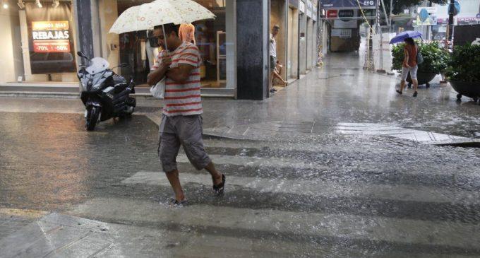 Anuncian fin de semana con lluvias, tormentas y entrada de frente frío