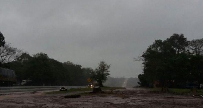 Meteorología lanza alerta por tormentas para nueve departamentos