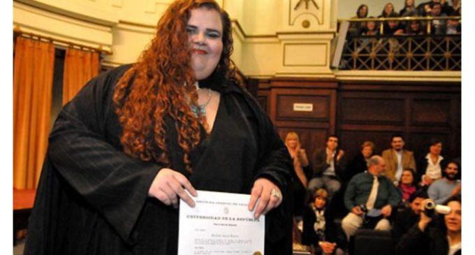 Asumirá como parlamentaria en Uruguay la primera mujer trans