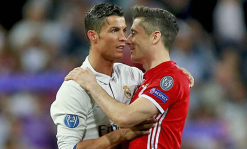 Eliminatorias europeas: Con 'hat-trick' Lewandowski desplaza a Cristiano