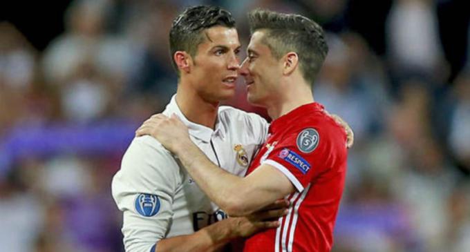 Eliminatorias europeas: Con 'hat-trick' Lewandowski desplaza a Cristiano