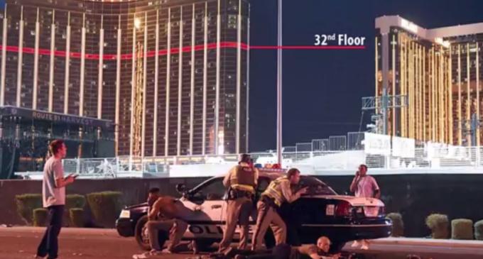 El atentado en Las Vegas en videos