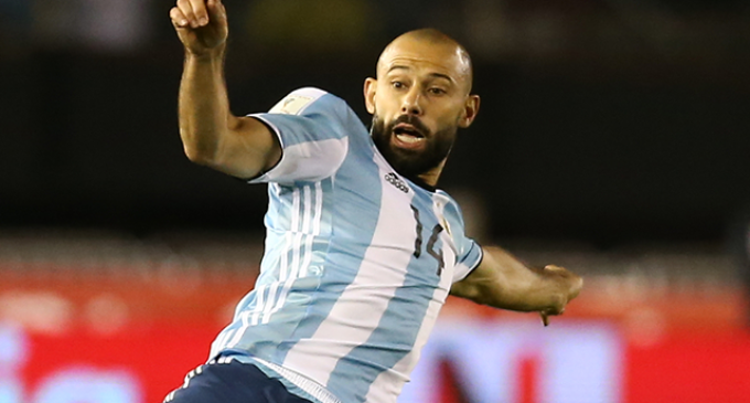Mascherano, con Argentina sólo hasta Rusia
