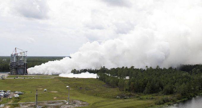 VIDEO: Probaron uno de los motores que llevará al hombre a Marte
