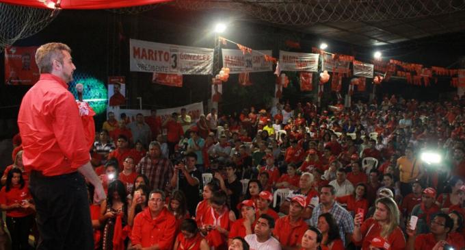Marito desarrolla agenda en Caaguazú