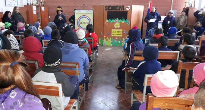 Eduentretenedores: Entrenan a niños para combatir el Aedes aegypti