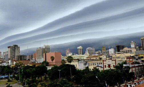 Posibilidad de tormentas intensas desde esta tarde