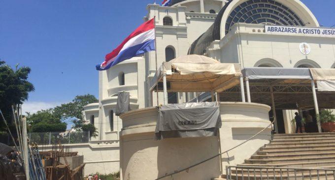 Inician construcción de museo Caacupé