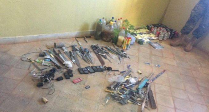 Cuchillos y marihuana en cárcel de Misiones
