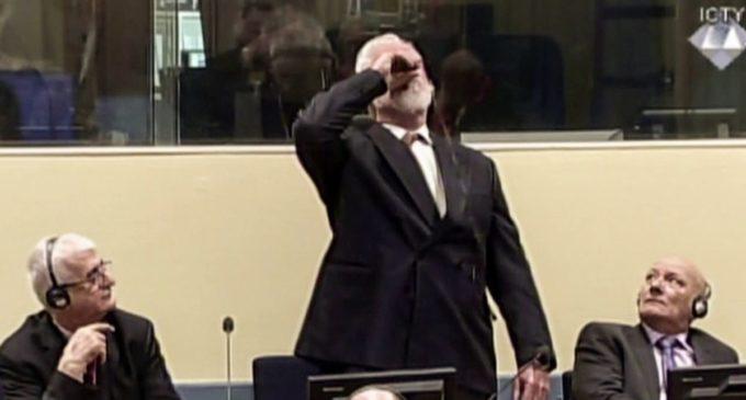 Exmilitar se suicidó mientras leían su condena
