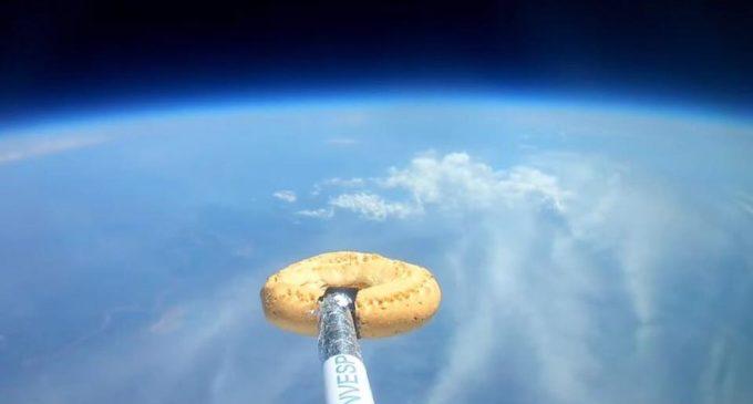 La chipa que viajó al espacio
