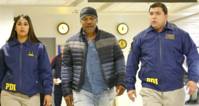 Mike Tyson es detenido en Chile y deportado a su país