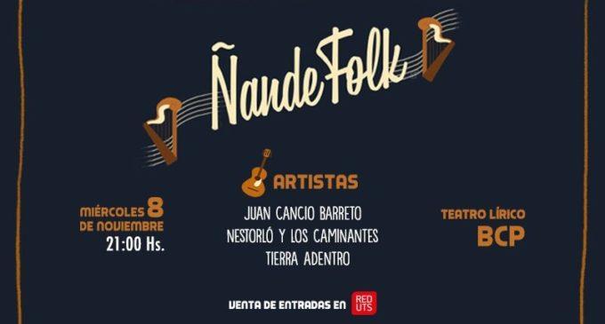 """""""Ñande Folk"""" en el BCP, un show de qué hablar"""