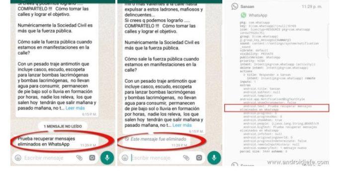 Whatsapp: Por más de que los borres, igual es posible que los receptores lean los mensajes que eliminaste